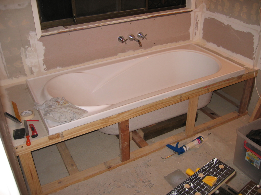 ... Framing A Bathtub By Bathtub Framing Support Images ...